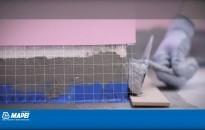 Hydroizolácia Mapelastic, aplikacia – balkóny, terasy, kúpeľne, bazény