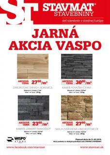 Jarná akcia VASPO