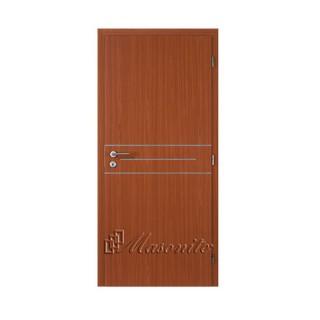 Dvere lamino hruška ALU II DTD 70 cm ľavé