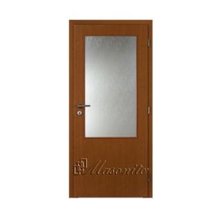 Dvere JELŠA 2/3 sklo voština 90 cm ľavé
