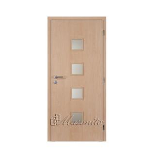 Dvere lamino QUADRA JAVOR sklo voština 80 cm ľavé