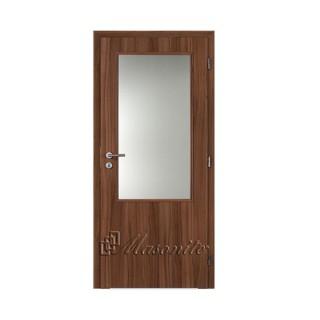 Dvere lamino ORECH 3/4 sklo voština 90 cm pravé