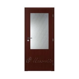 Dvere MAHAGÓN 2/3 sklo voština 60 cm ľavé