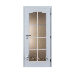 Dvere OCTAVIANUS BIELE sklo voština 70 cm pravé