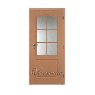 Dvere SOKRATES BUK sklo voština 60 cm pravé