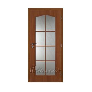Dvere OCTAVIANUS JELŠA sklo voština 60 cm pravé