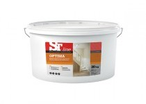 ST line Optima – biela maliarska farba 7,5 kg, 20 kg, 40 kg