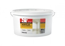ST line Popular – biela maliarska farba 7,5 kg, 20 kg, 40 kg