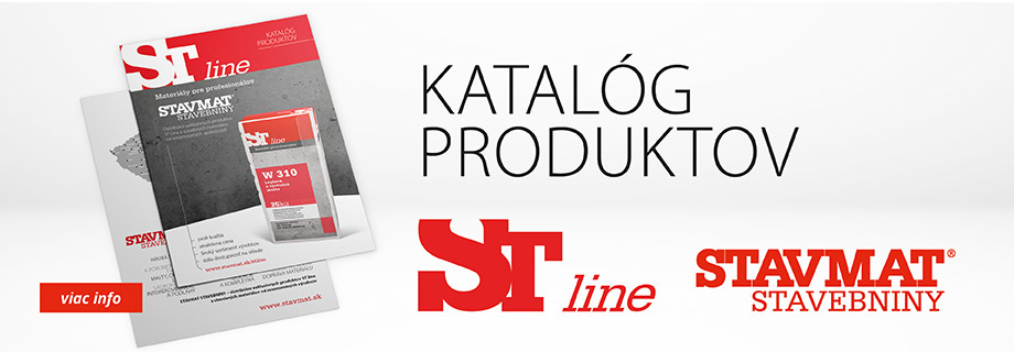 Katalóg produktov ST line