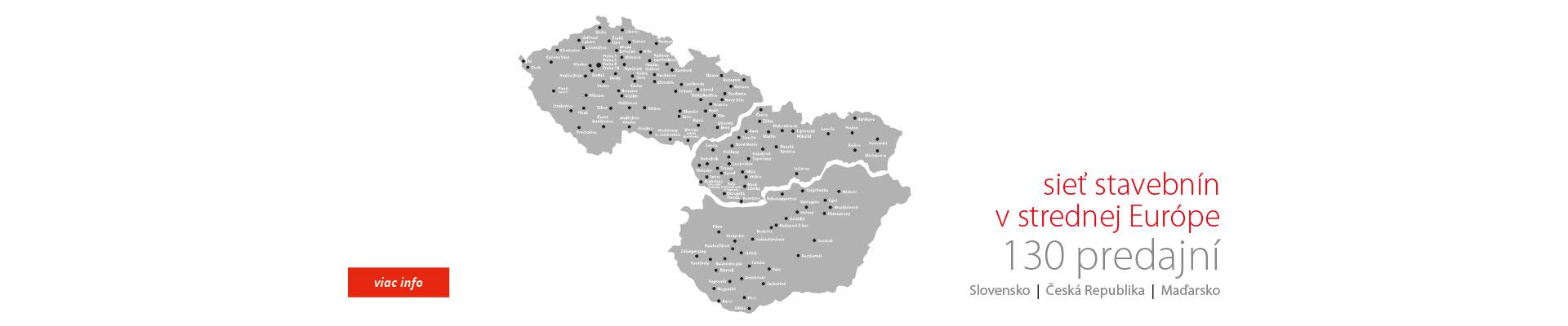 sieť stavebnín